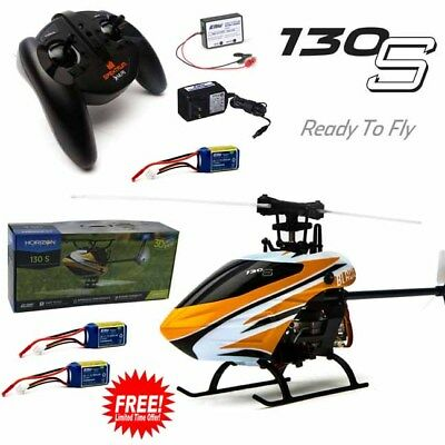 Blade BLH9300 130 S Helicopter SAFE Tech RTF w/ Radio + Free 2X Lipo Batteries