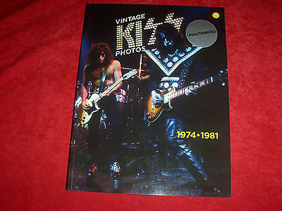 Kiss **kiss Vintage Photos 1974-81 Book** Unauthorized**** Softcover