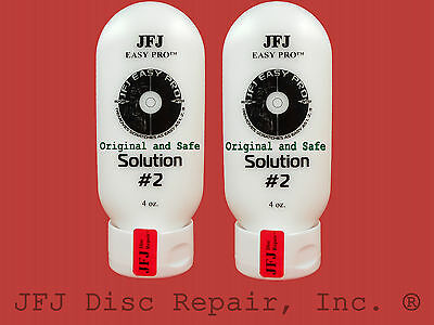 2- 4oz Advanced Solution Compound #2 White JFJ Easy Pro Single Double Disc (8oz)