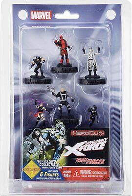HeroClix: Marvel: Deadpool and X-Force Fast Forces