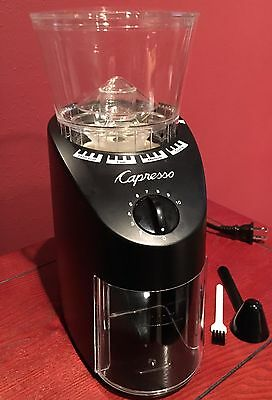 Capresso Infinity 560 Conical Burr Coffee Grinder,  Free Shipping!
