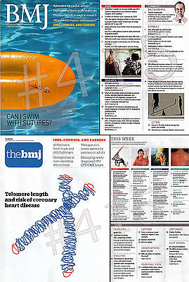 BRITISH MEDICAL JOURNAL - The BMJ - 31 May + 12 July 2014 (2 copies)