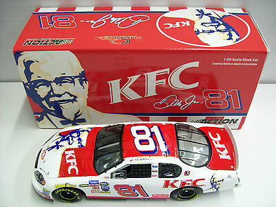 Dale Earnhardt Jr. #8 Kentucky Fried Chicken Action 1/24 Scale NASCAR Diecast