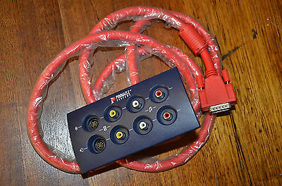 Pinnacle Systems Blue Box - Audio/Video Breakout Box w/Cable - P/N 40160734
