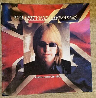 Tom Petty And The Heartbreakers Southern Accents Tour Program 1985