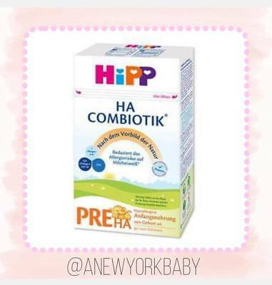 1 Box HiPP Organic Combiotik German PRE HA Hypoallergenic Infant Milk 600g