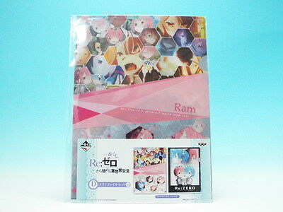 [FROM JAPAN]Ichiban Kuji ReZero - Starting Life in Another World D Prize Cle...