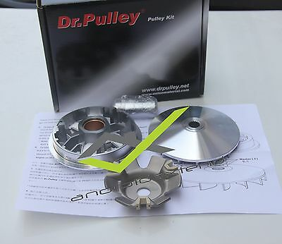 Pgo G-Max/blur 125/150/200/220/ X-Hot150  Dr.pulley High Perfor.cvt Variator Kit