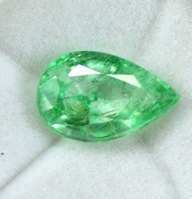 Natural 6.10 Ct EGL Certified Green Emerald  Gemstone~{Awesome Deal}~CD4177
