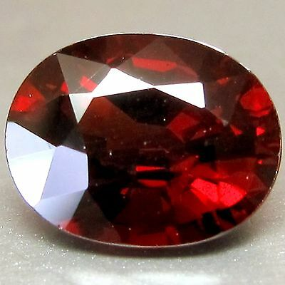 3.29 Cts Top Quality Aaa Red Natural Rhodolite Garnet Loose Gemstones