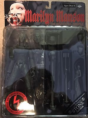 NEW Marilyn Manson THE Beautiful People STONE action figure Fewture JAPAN