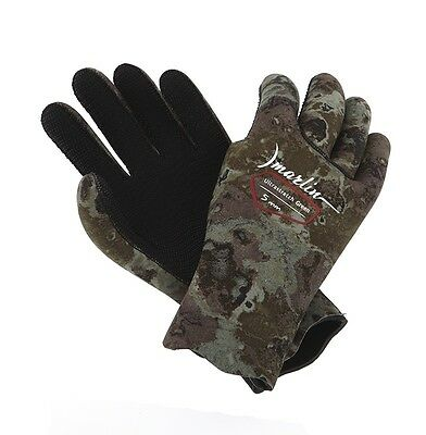 DIVING SPEARFISHING Green 5 mm Ultrastretch gloves