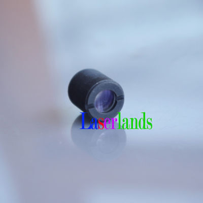 Three Layers Coated Glass Collimation Focal Lens for Red Blue Laser Diode Module
