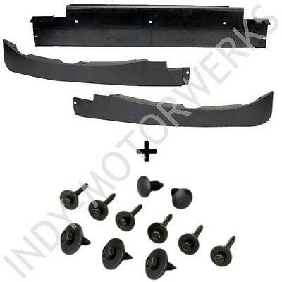 Corvette Front Lower Air Spoiler Dam Kit C6 05-13 Complete + Mounting Hardware