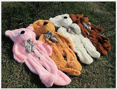 @ Large Teddy Bear cover Skin with zipper soft toys 60-300cm (without cotton)