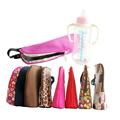 Portable Baby Feeding Insulation Bags Bottle Warmer Thermal Tote Hang Bag Travel