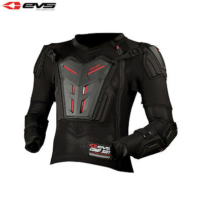 Evs Youth Comp Suit Jacket Mx Quad Trail All In One Body Armour Pressure Suit
