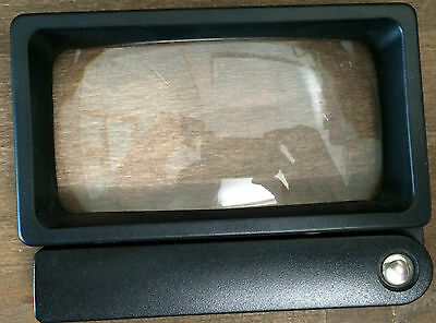 Hand Magnifier Combi Plus by Eschenbach 2,6 Compartment Magnification New