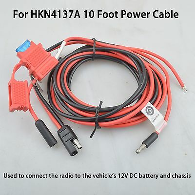 OEM Power Cable for Motorola XTL1500 XTL2500 XTL5000 MCS2000 Mobile radio