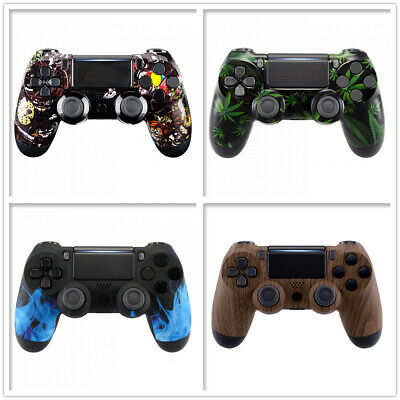Patterned Front Parts Cover Shell Faceplate for PS4 Pro Slim Controller JDM-040