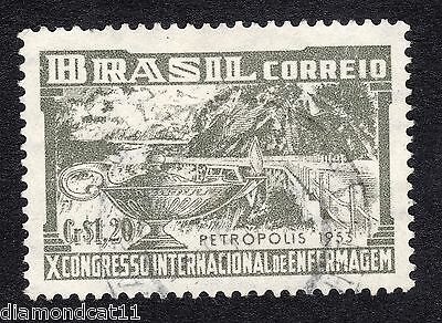 1953 Brazil 1.20cr 10th Int Nursing Congress SG849 FINE Used R16620