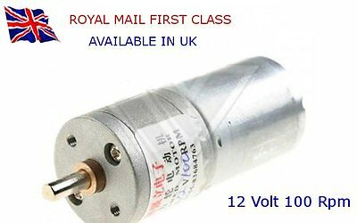100 rpm 12v dc high torque electric motor gearbox for 100 rpm dc motor