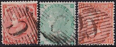 GB Used Abroad in CONSTANTINOPLE British Levant C  3 stamps.
