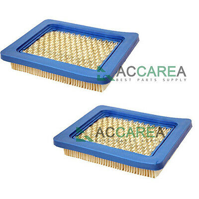 2X Air Filters For Briggs & Stratton 491588 491588S 5043 5043D 399959 119-1909