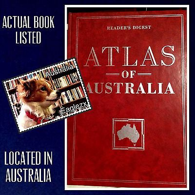 Readers Digest Atlas Of Australia Very Large Format Hardcover 2nd Ed 1994