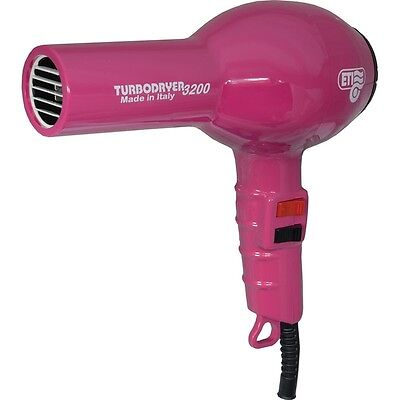 ETI Turbo Hair Dryer 3200 Professional. FUSCIA. For Drying hair & Styling
