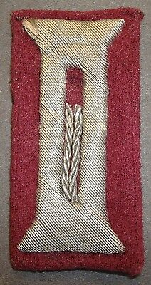Wwii German Smoke Troop Officers M35 Dress Uniform Cuff Tabs