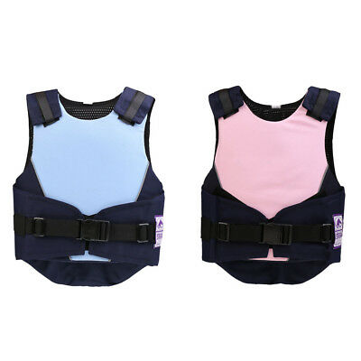 Kids Adjustable Horse Riding Vest Safety Eventing Equestrian Body Protector