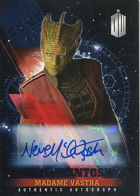 Doctor Who Timeless Purple Parallel [##/25] Autograph Card Neve McIntosh