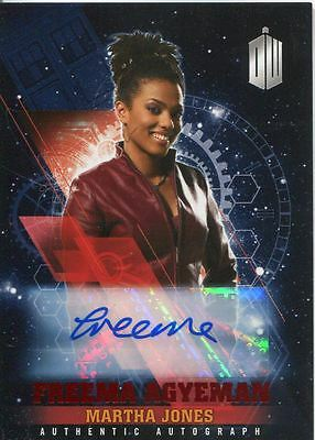 Doctor Who Timeless Red Parallel [##/10] Autograph Card Freema Agyeman