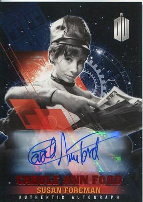 Doctor Who Timeless Red Parallel [##/10] Autograph Card Carole Ann Ford