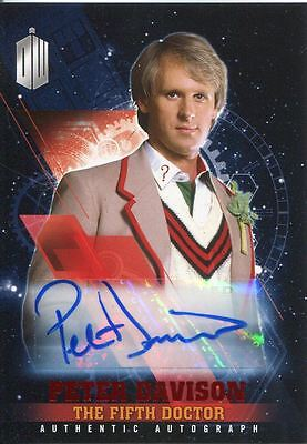 Doctor Who Timeless Red Parallel [##/10] Autograph Card Peter Davison