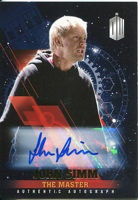 Doctor Who Timeless Gold Parallel [1/1] Autograph Card John Simm