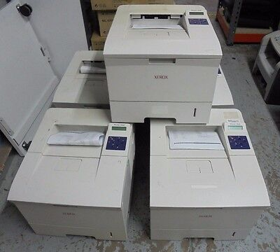 Job Lot 5 X Xerox Phaser 3500Dn Laser Printers Monochrome Duplex Network Usb