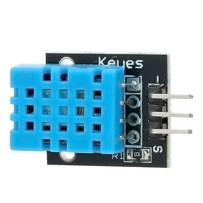 Work with Arduino DHT11 Digital Temperature Humidity Sensor Module for Arduino