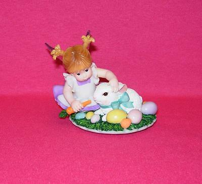 My Little Kitchen Fairies BABY BUNNY FAIRIE Bunny with Easter Eggs