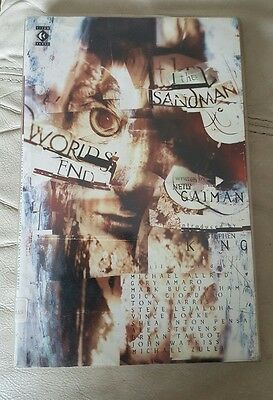 The Sandman: Worlds End - DC Comics First Edition 1995 Gaiman/Steven King