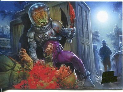 Mars Attacks Invasion Parallel Extra Gore Base Card #18