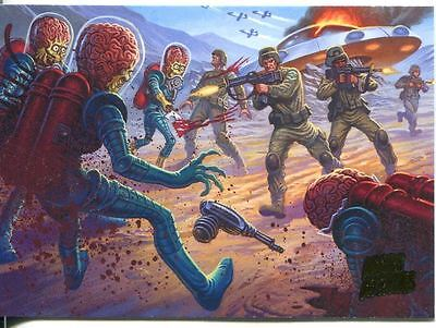 Mars Attacks Invasion Parallel Extra Gore Base Card #44