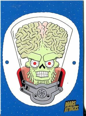 Mars Attacks Invasion Gold Stamped Parallel Base Card #71