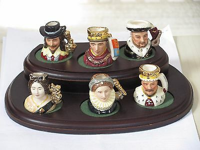 Royal Doulton Tiny Kings & Queens of the Realm Ltd Edition