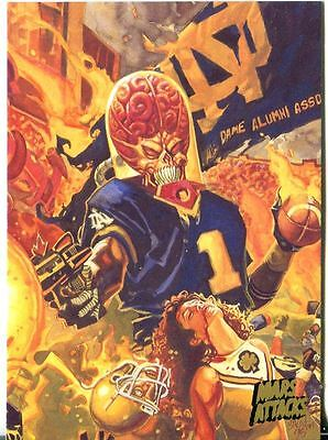 Mars Attacks Invasion Gold Stamped Parallel Base Card #81
