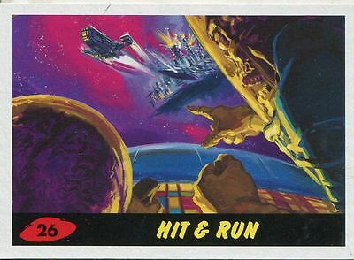 Mars Attacks Invasion Heritage Parallel Base Card #26