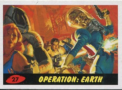 Mars Attacks Invasion Heritage Parallel Base Card #27