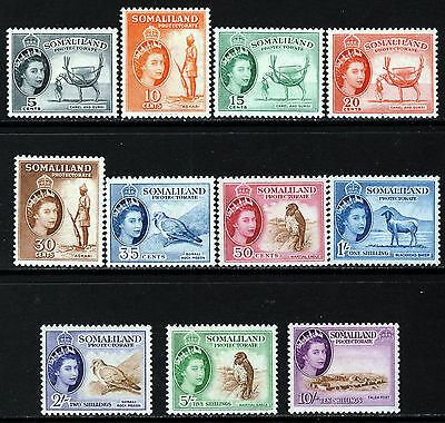 SOMALILAND QE II 1953 Pictorial Part Set SG 137 to SG 148 MINT