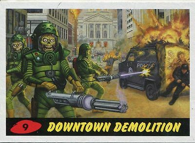 Mars Attacks Invasion Heritage Parallel Base Card #9
